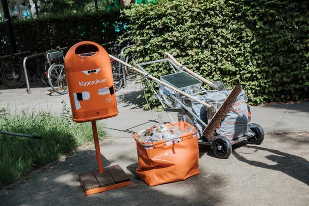 Waste: German litter collection EPR
