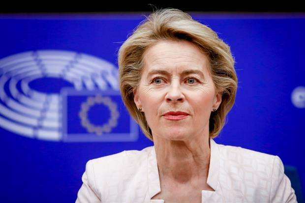 Ursula von der LEYEN, Candidate for President of the European Commission meets with the EPP group (Mathieu CUGNOT © European Union 2019 - Source : EP)