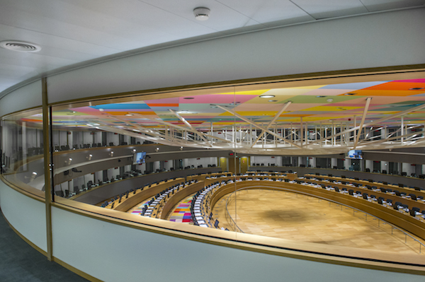 General EU council building inside (EU)