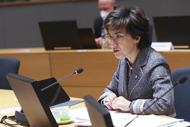 """Portugal's agriculture minister Maria do Céu Antunes said member states """"have to show some flexibility and openness"""". Photo: European Union"""