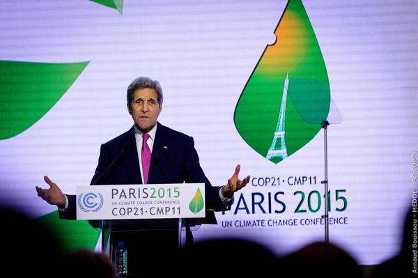 Climate: COP21, US SoS John Kerry speaks