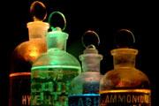 Chemicals, flasks. Credit: Dreamstime