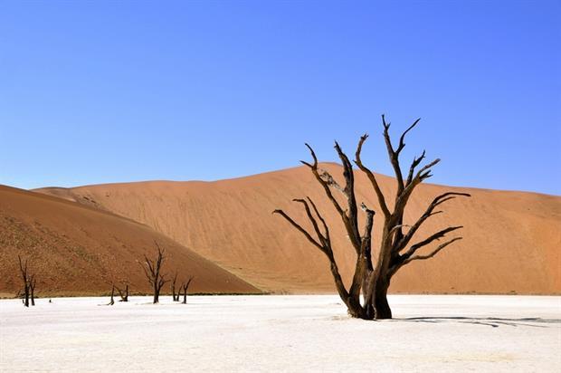 Water - Desert in Namibia (Pixabay)