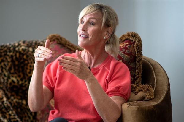 """Erin Brokovich in her home in California: """"I believe that if people really knew what was going on, they'd be up in arms."""" Photo: Valerie Macon/AFP via Getty Images"""