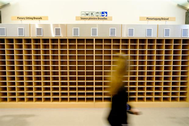 European Parliament: more than 100 programs cancelled due to coronavirus (Photo by Thierry Monasse/Getty Images)