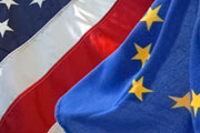 EU and US flags (photograph: openDemocracy, CC-BY SA 2.0)