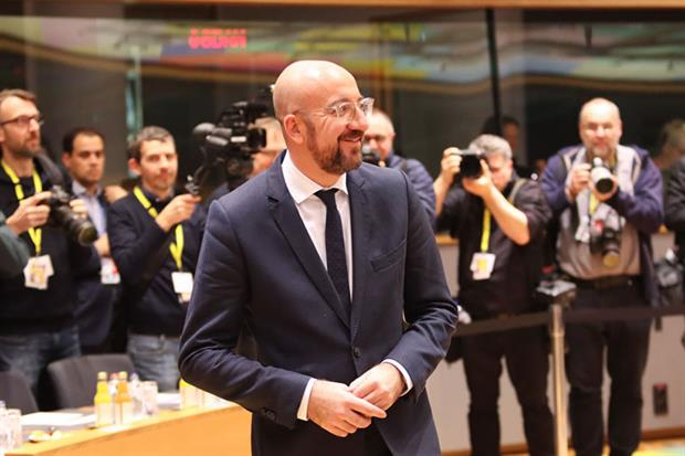 Charles Michel: proposed a budget of 1.07% of national income (Photo by Nicolas Economou/NurPhoto via Getty Images)