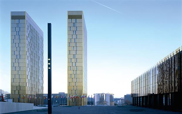 Institutions: European Court of Justice buildings external
