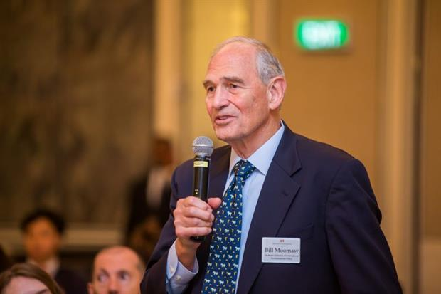 """Dr William Moomaw on EU bioenergy policy: """"We point our fingers at Brazil and the tropical countries and tell them to stop cutting down their forests... I find that highly hypocritical, frankly."""" Photograph: Bill Moomaw"""