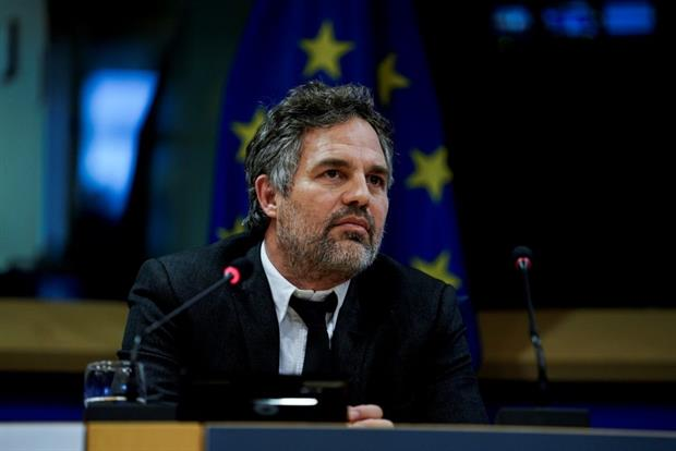 Hollywood actor Mark Ruffalo visited the European Parliament in 2019 to call for EU action against 'forever chemicals' PFAS. The European Commission has since pledged to phase out 'non-essential' uses. Photo: Kenzo Tribouillard/AFP via Getty Images