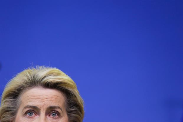 President Ursula von der Leyen is set to announce on Wednesday plans to more than half the EU's CO2 emissions by 2030 compared to 1990. Image: Aris Oikonomou / POOL / AFP