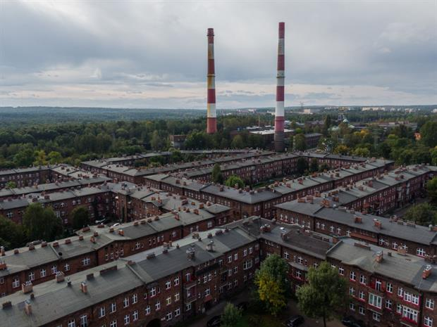 Nikiszowiec coal miners settlement, September 2020 in Katowice. Poland is set to be the largest beneficiary of EU just transition funding. Photo: Omar Marques/Getty Images