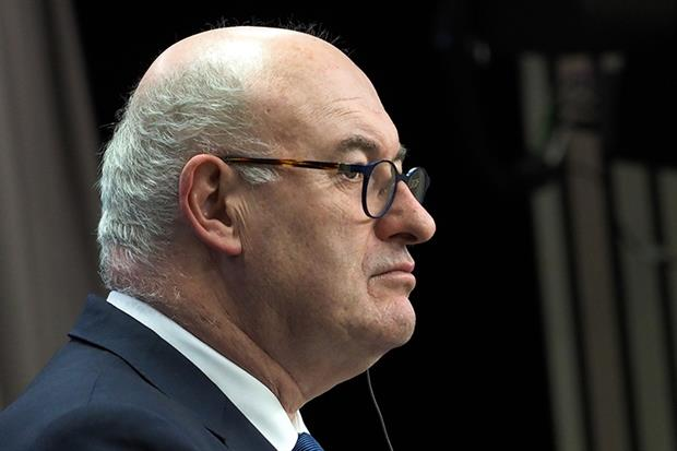 Phil Hogan: 'Higher risk' (picture: European Union)