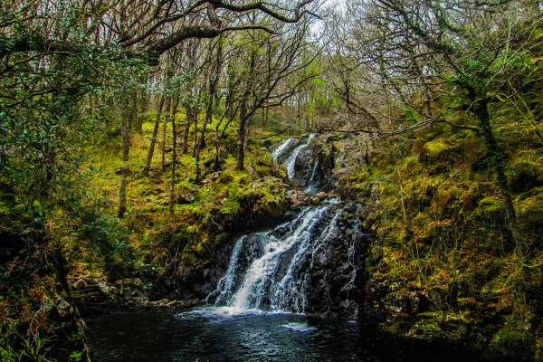 Nature: Wales waterfall (JR)