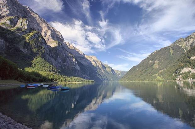 Nature: Klöntalersee, Switzerland (Image: Hans Bühler / Gemeinde Glarus)