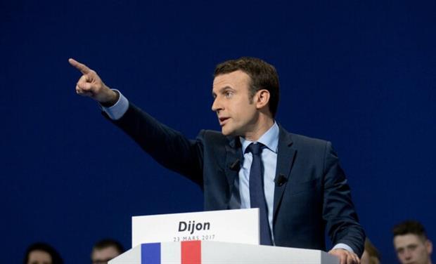 France - Macron addresses audience (Flickr)