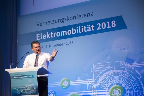Maroš Šefčovič © European Union , 2018 / Source: EC - Audiovisual Service / Photo: Carsten Koall