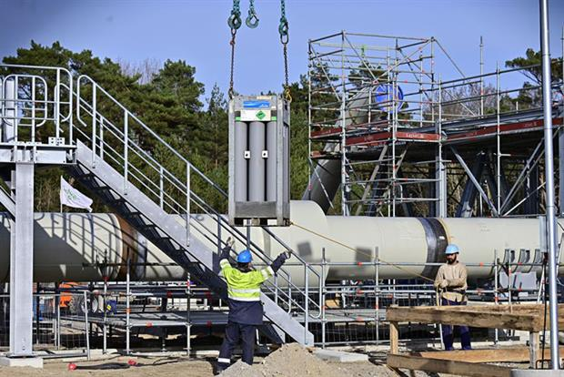 Gas: industry has said the projects are necessary for the energy transition (TOBIAS SCHWARZ/AFP via Getty Images)
