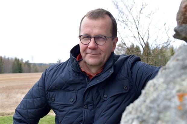 "Pekka Pesonen at his farm in Finland: ""A farmer is a farmer is a farmer."""