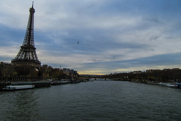 Paris - View over the Seine (JR)
