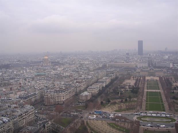 Pollution - Smog over Paris (Pixabay)