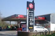 Fossil fuels, petrol station (Credit: David Sharpe)