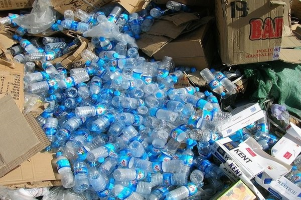 Waste - plastic bottles