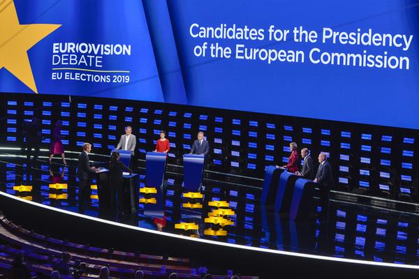 Spitzenkandidat debate © European Union 2019