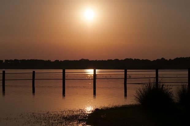 Spain - Sunset in Doñana (Pixabay)
