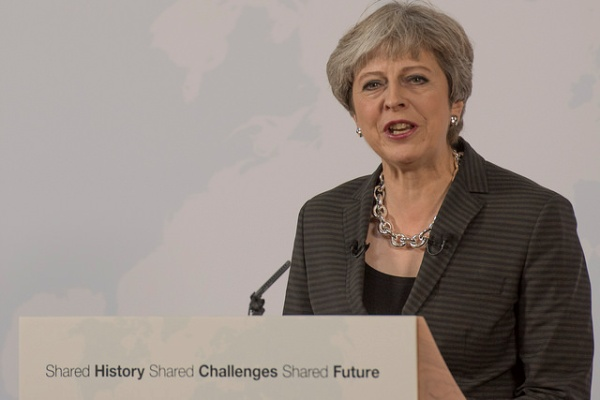 People: UK Prime Minister Theresa May