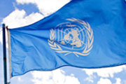 Flag, United Nations (credit: sanjitbakshi, CC BY 2.0)