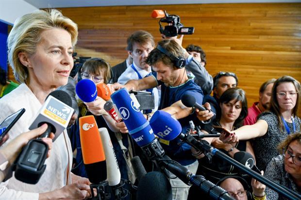 Ursula von der Leyen after nomination by European Council for Commission president - Source: European Parliament