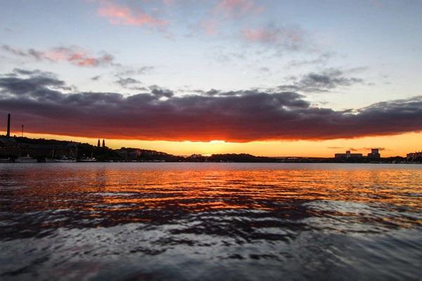 Water - Stockholm Sunset (JR)