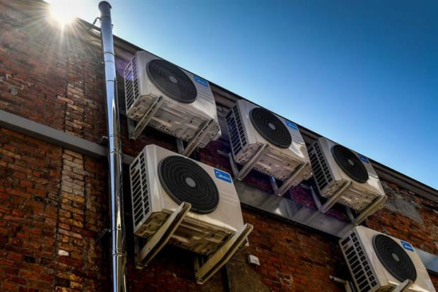 Air conditioning: stock of portable air conditioners in the 27 EU member states is estimated at 4.3 million units (Photo: DIRK WAEM/AFP via Getty Images)