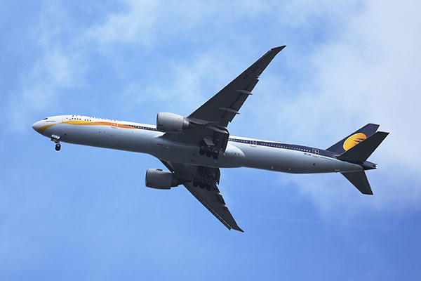 Transport: Jet Airways (photograph: Leonard Zhukovsky/123RF)