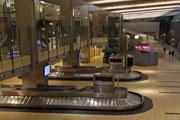 Transport, airport baggage claim