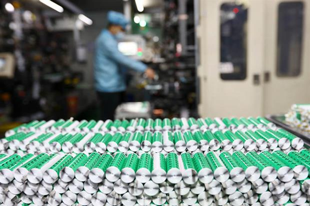 Battery manufacturers were among those urging a pause to the rollout of the database (Photo by STR/AFP via Getty Images)