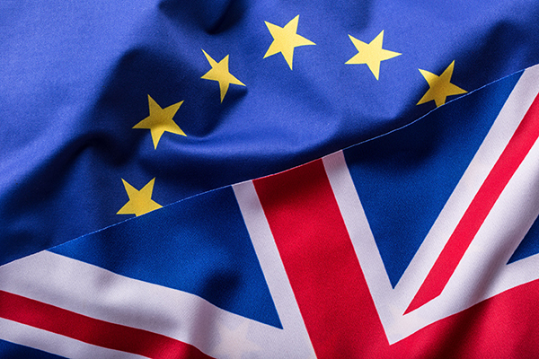Flag, brexit (photograph: Marian Vejcik/123RF