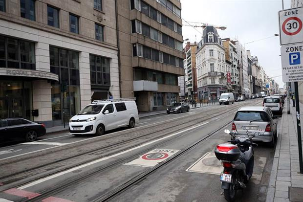 A speed limit of 30km/h has been introduced everywhere but a handful of major traffic arteries in Brussels (Photo by Dursun Aydemir/Anadolu Agency via Getty Images)