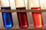 Chemicals, test tubes CCA SA3. Credit: Armin K├╝belbeck
