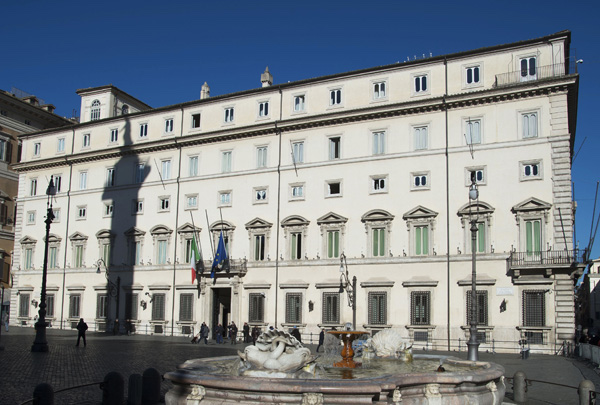 Italy - government building (Gov website)