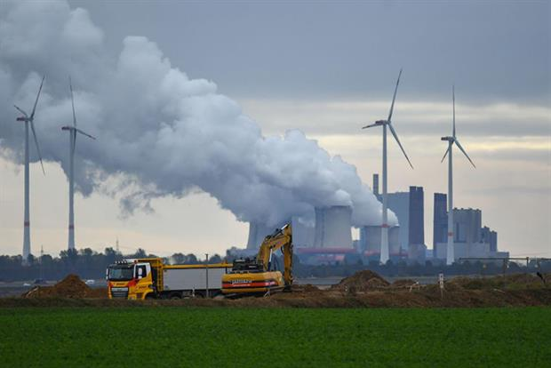 Emissions: CO2 concentration in the atmosphere reached a new high in March (Photo by INA FASSBENDER/AFP via Getty Images)