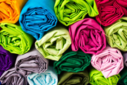 Chemicals, textiles (credit: Wattana Tasanart/123RF)