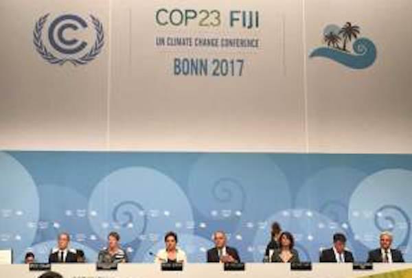 COP23 panel talk (UN)
