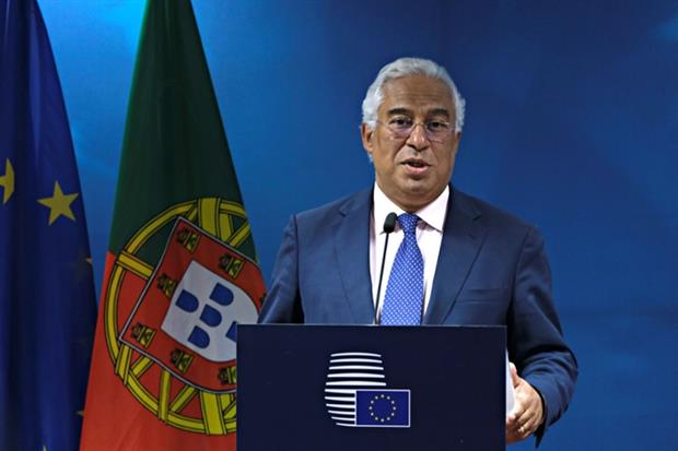 People: Anotnio Costa, Portuguese prime minister, at the European Council July 2019 (Image: European Union)