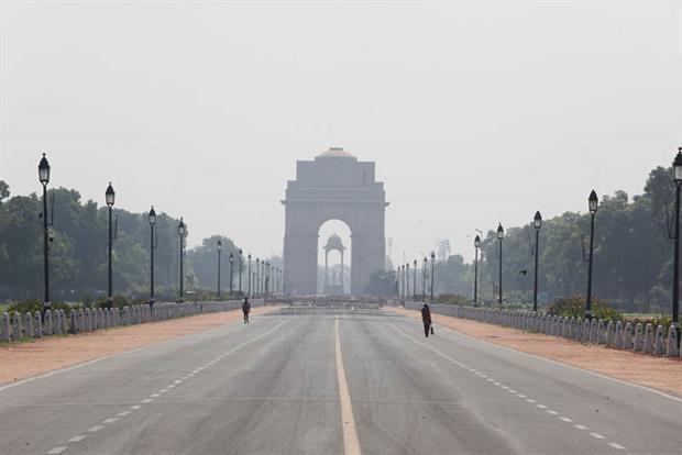 New Delhi: Air pollution and aerosol levels have slightly increased after India has began to ease lockdown measures (Photo by Pallava Bagla/Corbis via Getty Images)