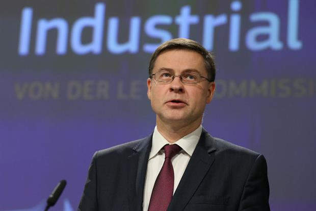 """Dombrovskis: urged creation of """"more sustainable and resilient economy"""" (Photo by Dursun Aydemir/Anadolu Agency via Getty Images)"""