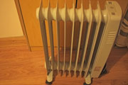 Energy using products, electric heater. Credit: frkstyle