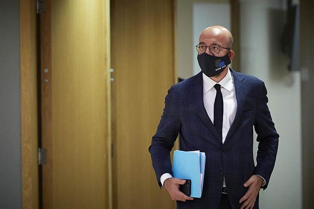 Charles Michel: 'The first time in European history that our budget will be clearly linked to our climate objectives' (Image copyright: European Union)