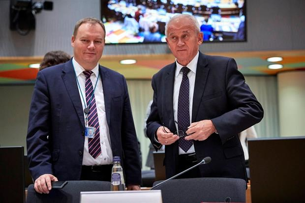 Politics: Krzysztof Tchorzewski, Polish Minister for Energy, at September's Energy Council (Image: European Union)